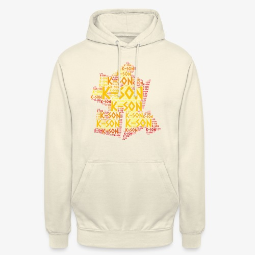 Cloud 57 2 png - Sweat-shirt à capuche unisexe