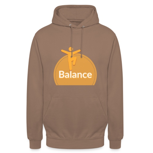 Balance yellow - Unisex Hoodie