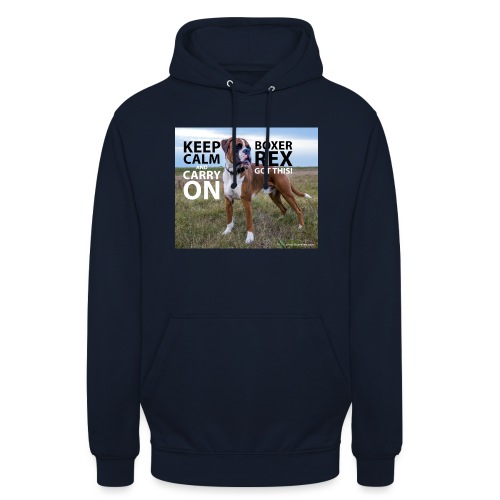 Keep calm and carry on - Unisex Hoodie