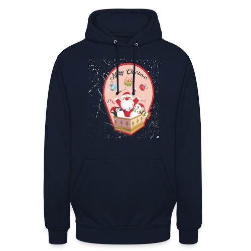 Merry Chrismas1 - Sweat-shirt à capuche unisexe