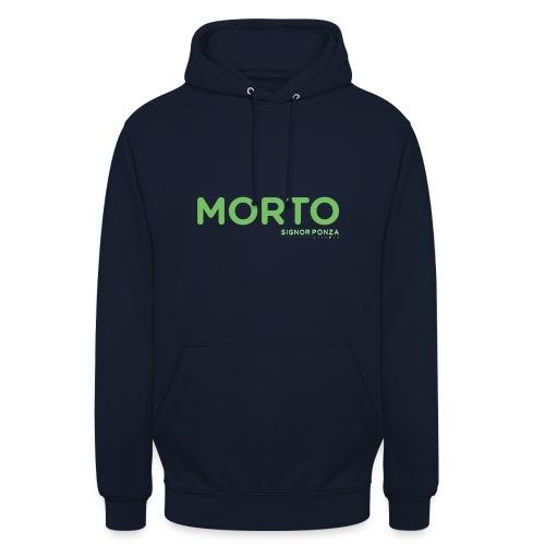 MORTO - Felpa con cappuccio unisex