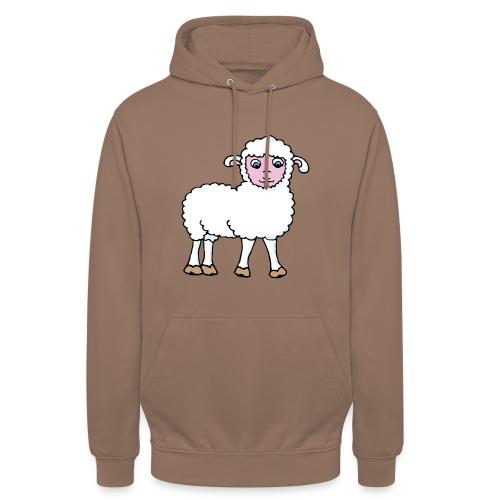 Minos le petit agneau - Sweat-shirt à capuche unisexe
