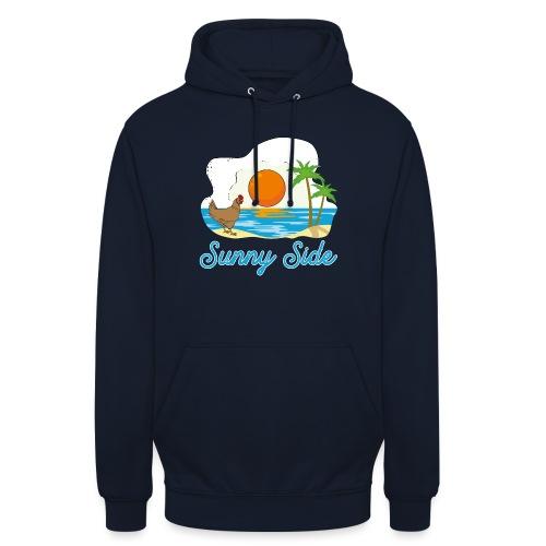 Sunny side - Felpa con cappuccio unisex