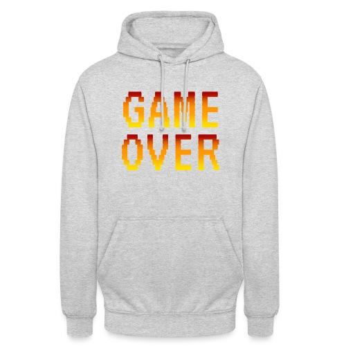 Game Over - Felpa con cappuccio unisex