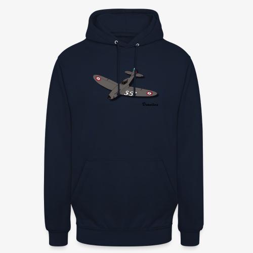 D551 - Sweat-shirt à capuche unisexe