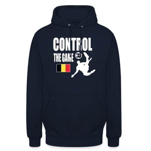 Control The Game Belgium - Hoodie unisex