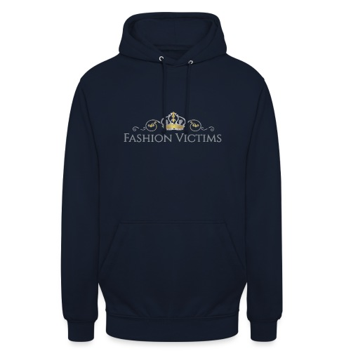 Official Fashion Victims Logo Gold/Silver - Hoodie unisex