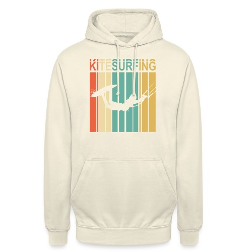 Kitesurfing - Sweat-shirt à capuche unisexe