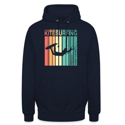 Kitesurfing FWI - Sweat-shirt à capuche unisexe