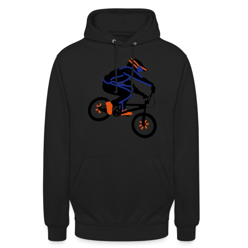 BMX Rider Dark - Hoodie unisex