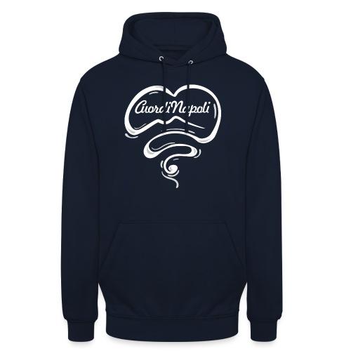 CuordiNapoli New Logo - Felpa con cappuccio unisex