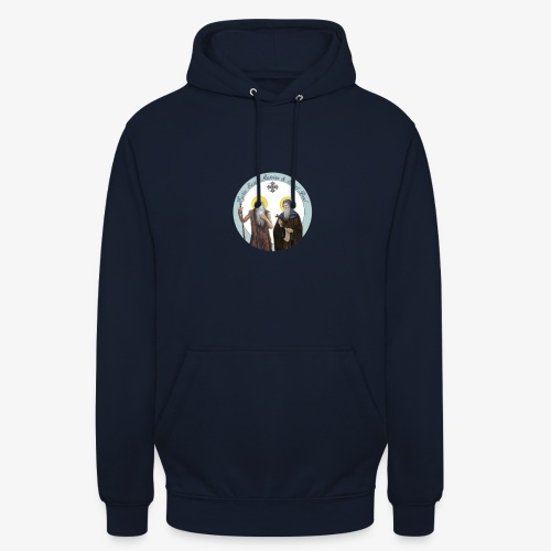 logo de l'eglise - Sweat-shirt à capuche unisexe
