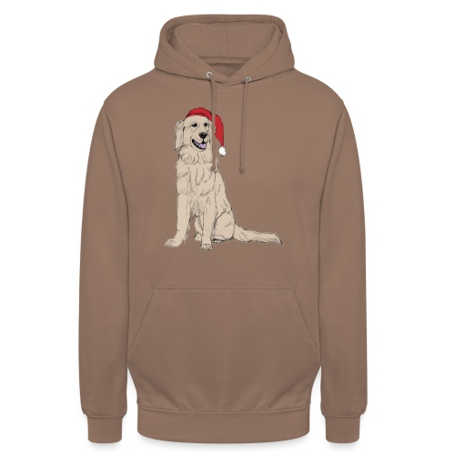 Golden Retriever Christmas - Hættetrøje unisex