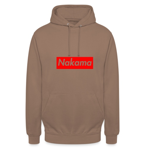 Nakama - Sweat-shirt à capuche unisexe