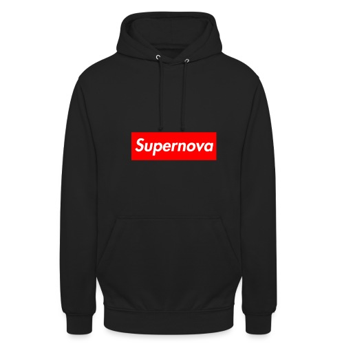 Supernova - Sweat-shirt à capuche unisexe