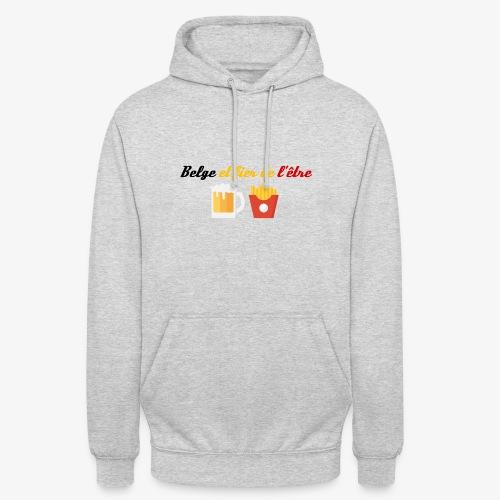 Belge et fier de l'être - Sweat-shirt à capuche unisexe