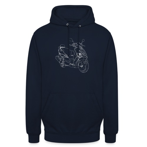 snm daelim othello sport outline w png - Unisex Hoodie