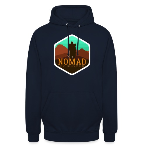 Nomad By Nature - Unisex Hoodie