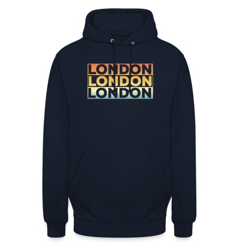 Vintage London Souvenir - Retro SehnsuchtLondon - Unisex Hoodie
