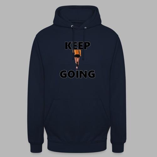 Keep going - Unisex Hoodie