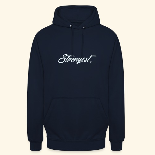 Strongest - Sweat-shirt à capuche unisexe