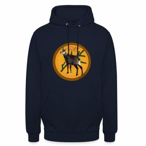 Le chamois - Sweat-shirt à capuche unisexe