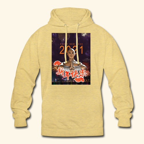 Gordon Liu as San Te - Warrior MonK - New Year - Hoodie unisex