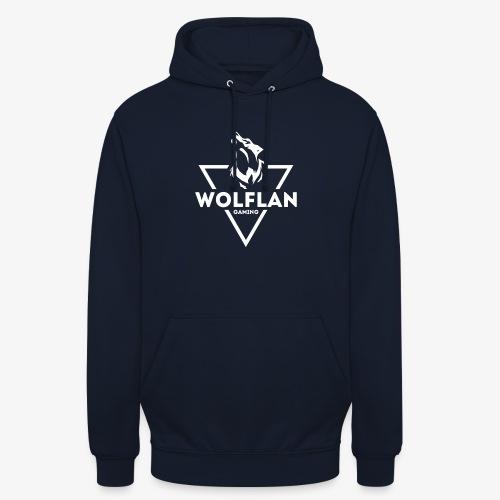 WolfLAN Logo White - Unisex Hoodie