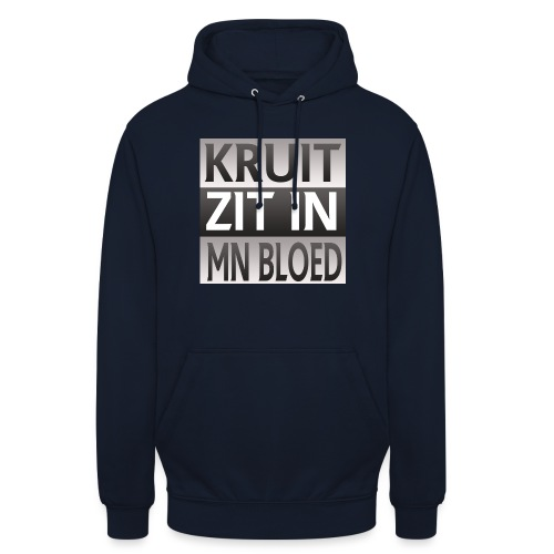 kruit_zit_in_mn_bloed - Hoodie unisex