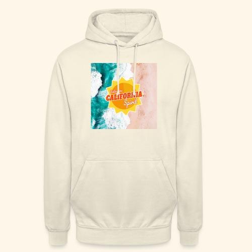 California Spirit Surfin - Sweat-shirt à capuche unisexe
