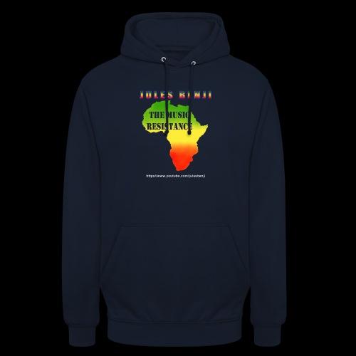 JULES BENJI & MUSIC RESISTANCE africa design - Unisex Hoodie
