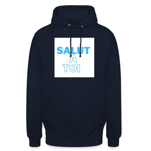 salut 4 - Sweat-shirt à capuche unisexe