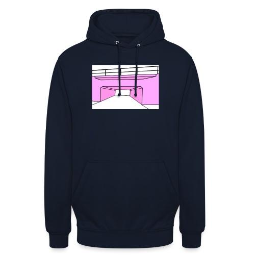 Pink Tunnel - Luvtröja unisex