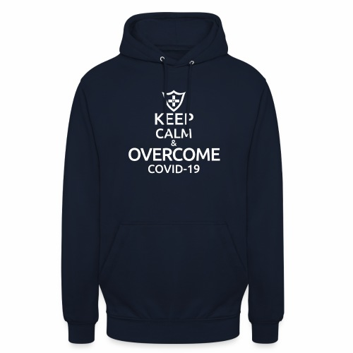 Keep calm and overcome - Bluza z kapturem typu unisex