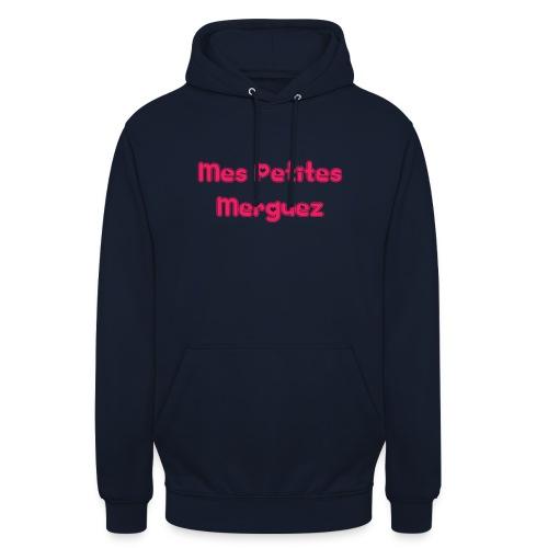 Mes Petites Merguez - Sweat-shirt à capuche unisexe