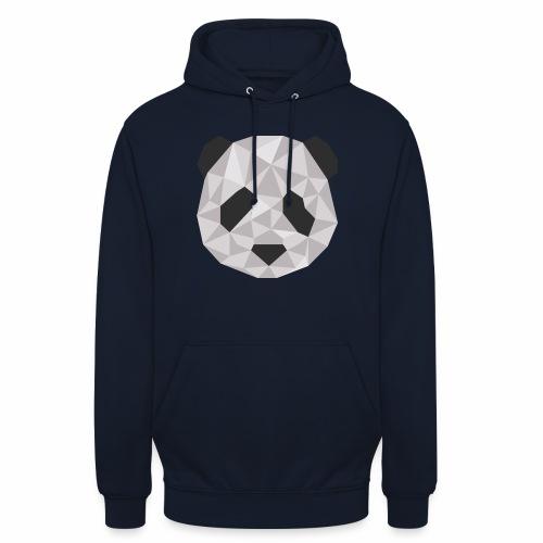 panda géométrique - Sweat-shirt à capuche unisexe