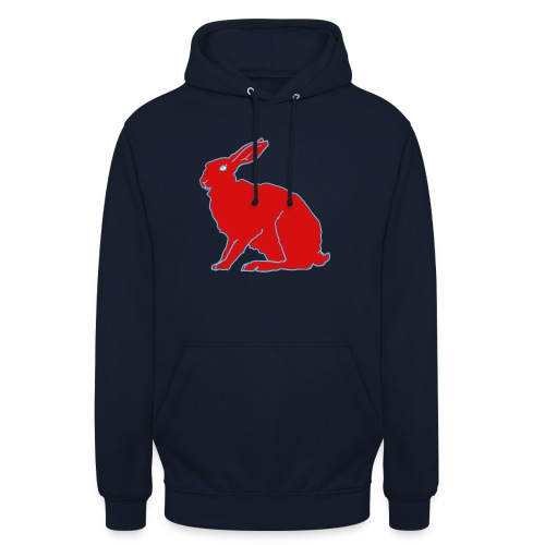 Roter Hase - Unisex Hoodie