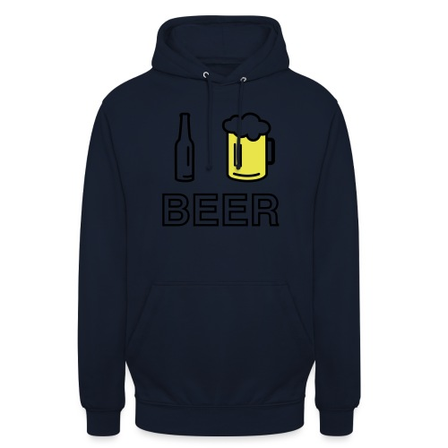 I Love Beer (2-farbig) - Unisex Hoodie