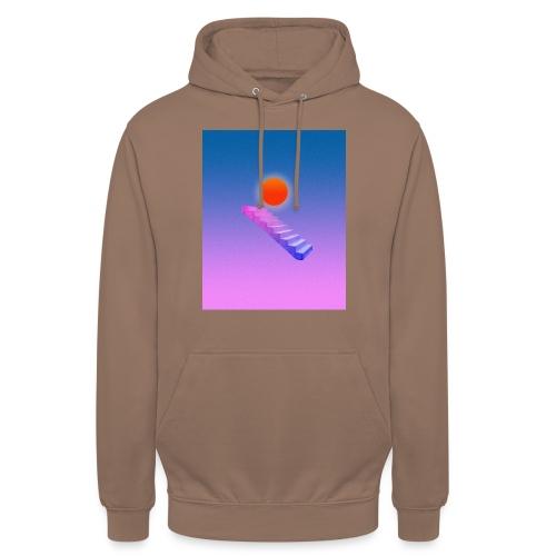ESCALIER AU CIEL - Sweat-shirt à capuche unisexe