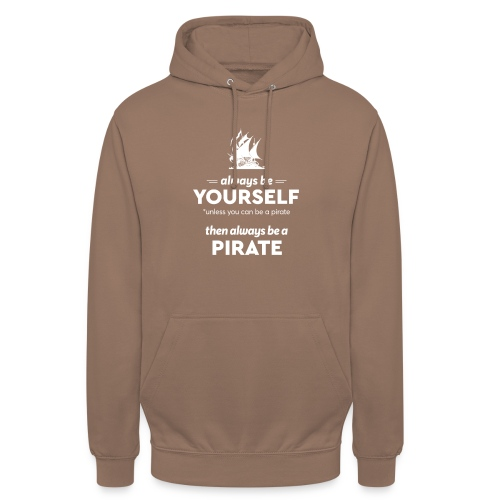 Be a pirate! (light version) - Unisex Hoodie