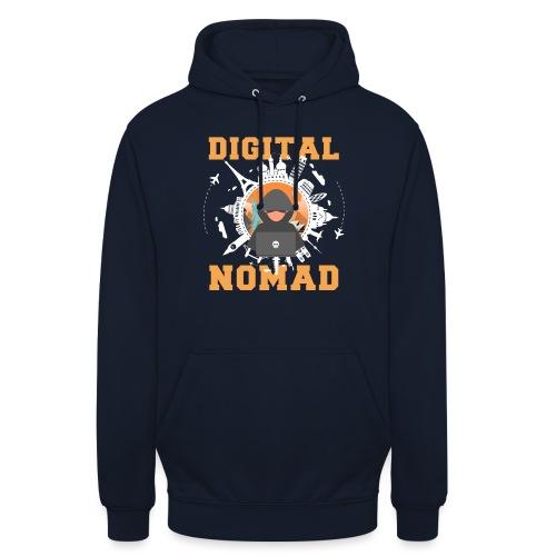 Digital Nomad - Unisex Hoodie