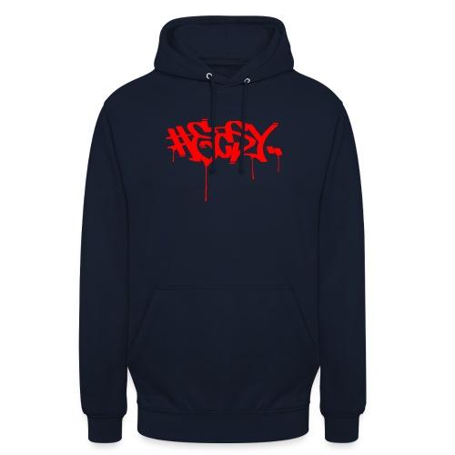 #EASY Graffiti Logo T-Shirt - Felpa con cappuccio unisex