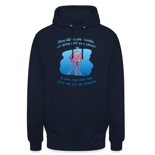 Meduse - Sweat-shirt à capuche unisexe