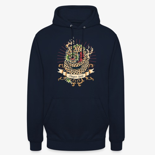 Esprit de dragon - Sweat-shirt à capuche unisexe