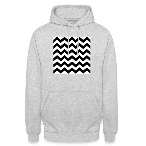 zigzag png - Sweat-shirt à capuche unisexe