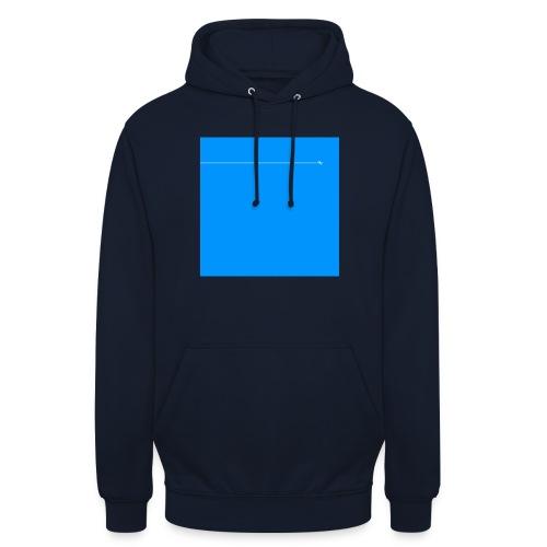 sklyline blue version - Sweat-shirt à capuche unisexe