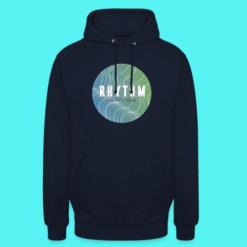 Rhythm On The Run Logo - Unisex Hoodie