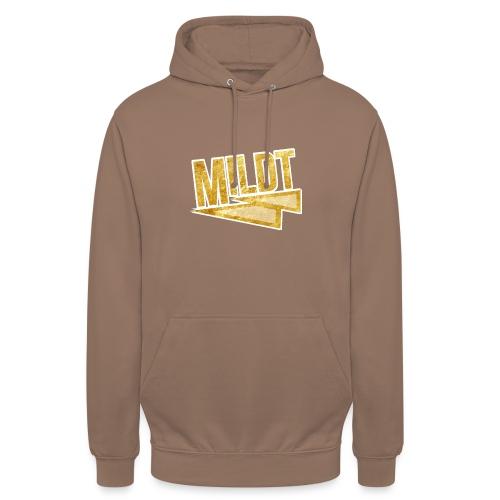 MILDT Gouden Mannen Shirt - Hoodie unisex