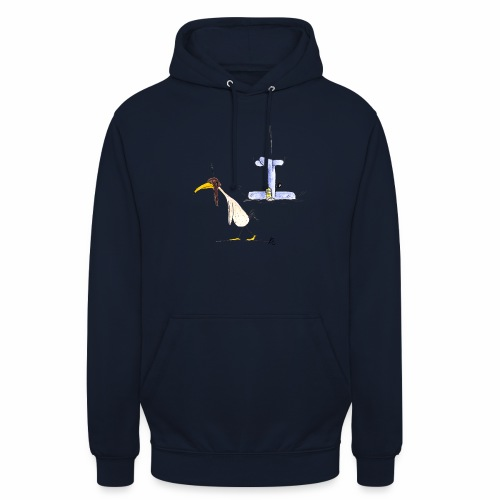 cartoon_Kleimdesign_abstu - Unisex Hoodie