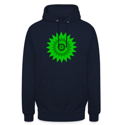Grüne Sonne - Unisex Hoodie